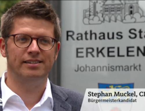 Stephan Muckel in der Lokalzeit Aachen
