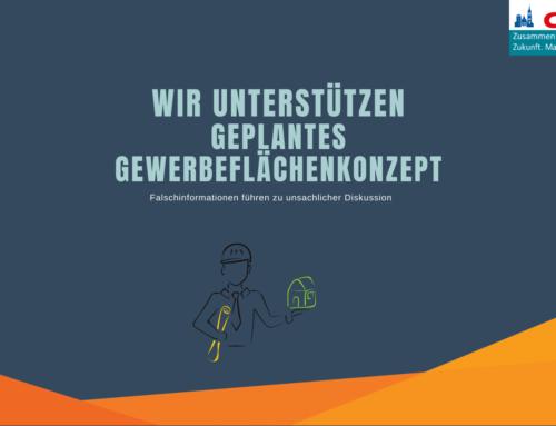 CDU, SPD, FDP & FW unterstützen geplantes Gewerbeflächenkonzept